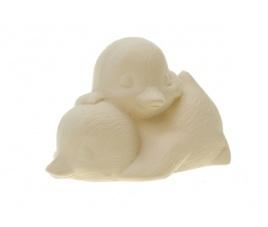 Forma gipsowa - kaczuszki śpiące
