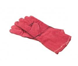 Rękawice ogniotrwałe skórzane