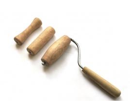 Zestaw wałeczków / gładzików drewnianych nr 2