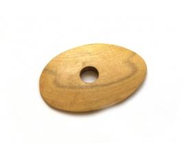 Cyklina drewniana owalna