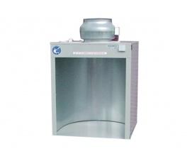 Komora natryskowa do szkliwienia - wydajność 1200 m³/h