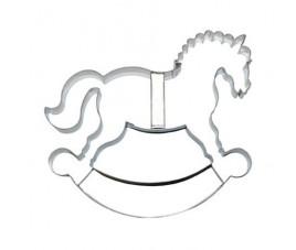 Wykrojnik koń na biegunach 16,6 cm 127