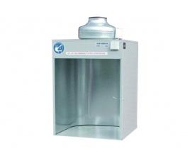 Komora natryskowa do szkliwienia - wydajność 740 m³/h