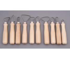 Narzędzia ceramiczne - oczka 10 szt.