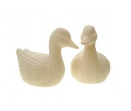 Forma gipsowa - dwie gąski