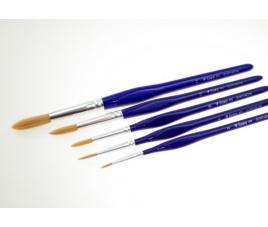 Pędzel Lineo włosie syntetyczne miękkie 672 r 4