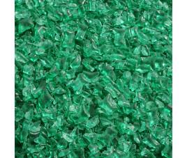 Granulat szklany - zielony morski, 100 g