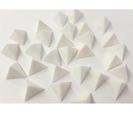 Podstawki do wypalania - piramidki, 25 sztuk
