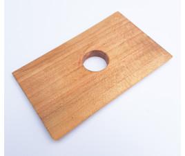 Cyklina drewniana prostokątna