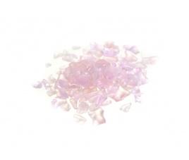 Granulat szklany - różowy intensywny, 100 g