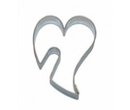 Wykrawacz serce wygięte z otworem 5,5 cm 1800v