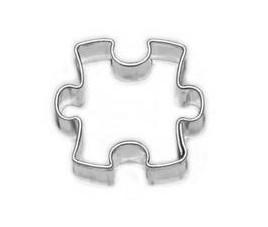 Wykrawacz mini puzzle 2 cm 583