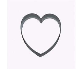 Wykrojnik serce 6 cm 3455
