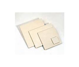 Kafel, płytka biskwitowa 100 x 100 x 7 mm biały
