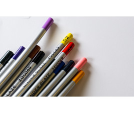 Kredki podszkliwne - komplet 12 kolorów