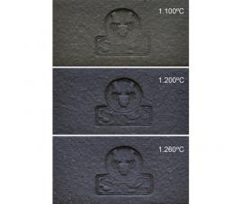 Glina SiO2 PRNF czarna 40%, 0,5 mm szamot - 12,5 kg