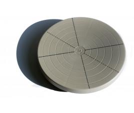 Toczek plastikowy/ śr 20 cm/wys 4 cm