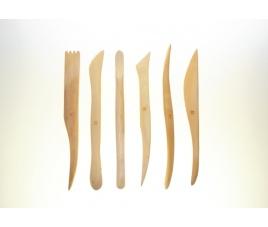 Zestaw szpatułek drewnianych 2021K